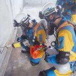 兵庫県警と鳥取県警が合同災害警備訓練を実施