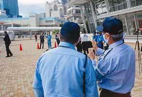 兵庫県神戸水上署と生田署が「Live110」で初動対応訓練