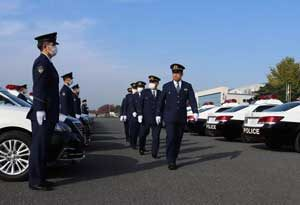 警視庁自動車警ら部隊が70周年記念して式典を実施