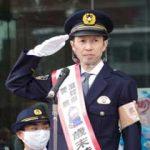 滋賀県警が武豊騎手を招いて歳末特別警戒出動式