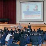 佐賀県警で高等専門学校生による情報モラル・セキュリティ授業を実施