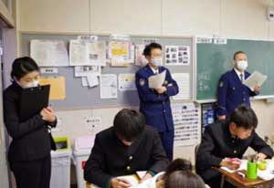 岩手県警察学校の職員が講演受講・授業見学でスキルアップ
