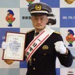 岐阜県恵那署が格闘家と交通事故ゼロの広報活動