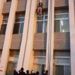 滋賀県警が運転免許センターで避難訓練を実施