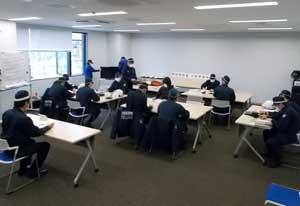 佐賀県神埼署が災害時の代替施設移転訓練