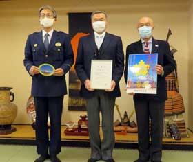 静岡県御殿場署で五輪警備の協力組織が発足