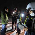奈良県警察学校で初任科生の受傷事故防止教養