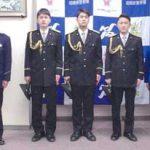 神奈川県相模原署で新成人署員を祝う会開く