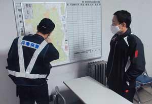 兵庫県警察学校で交番勤務想定した現場対応訓練を実施
