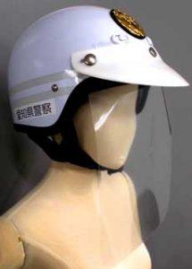 愛知県警開発の「ヘルメット差込式フェイスシールド」が県知事表彰受ける