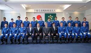 国体警備見据え栃木県警交機隊に「予備交通機動隊」が発足