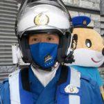 高知県警に損保会社が交通安全マスク等を贈呈