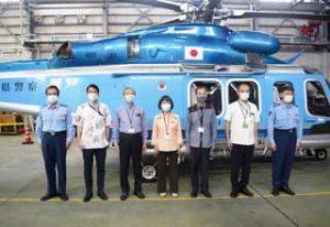 沖縄県警で警察用航空機「しまもり」の運航開始