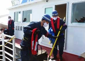 滋賀県警で大規模地震想定の初動対応訓練を実施