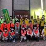 広島県警で学生・地域防犯ボランティア合同の夜間パトロール実施