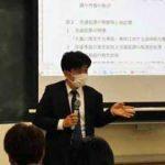 香川県警の那須本部長が香川大で交通警察の講義