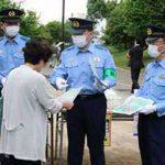 警視庁がコロナワクチン接種会場で詐欺被害防止を呼び掛け