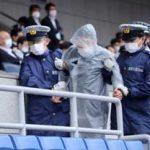 神奈川県警が五輪サッカー競技会場で総合警備訓練