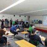 北海道警で自転車配達員への交通安全講習会を実施