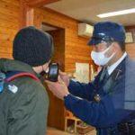 長野県軽井沢署で外国人対応訓練を実施