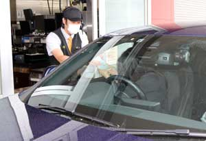 香川県警がマクドナルドのフランチャイズ店と連携して被害者支援広報を実施