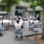 愛媛県警音楽隊が「プロムナードコンサート」開く