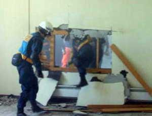 北海道警北見方面・美幌署でも災害警備訓練