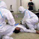 京都府警でコロナ感染の被留置者想定した新規留置業務競技会