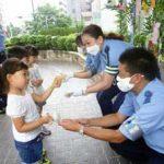 愛知県千種署が「防犯・交通安全七夕飾り」を設置