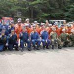 宮崎県小林署が関係機関と合同災害救助訓練