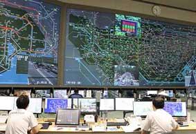 警視庁が東京2020大会を前に交通管制センターを公開