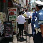 神奈川県警が横浜中華街で合同啓発指導