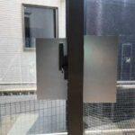 愛知県岡崎署が侵入盗防止用の防犯フィルム製作