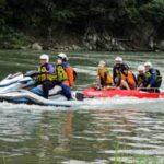 岡山県赤磐署が本部他所属と合同の災害訓練を実施