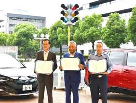 愛知県春日井署が名古屋トヨペットと災害時の車両提供協定結ぶ