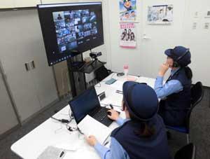 岡山県警が児童・生徒へのオンラインの非行防止教室