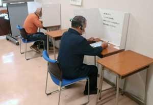 富山県警運転免許センターがタブレットでの認知機能検査を試行実施