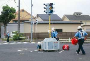 鳥取県倉吉署が警察署移転訓練を実施