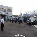 静岡県藤枝署で青パトのボイスパトロールを開始